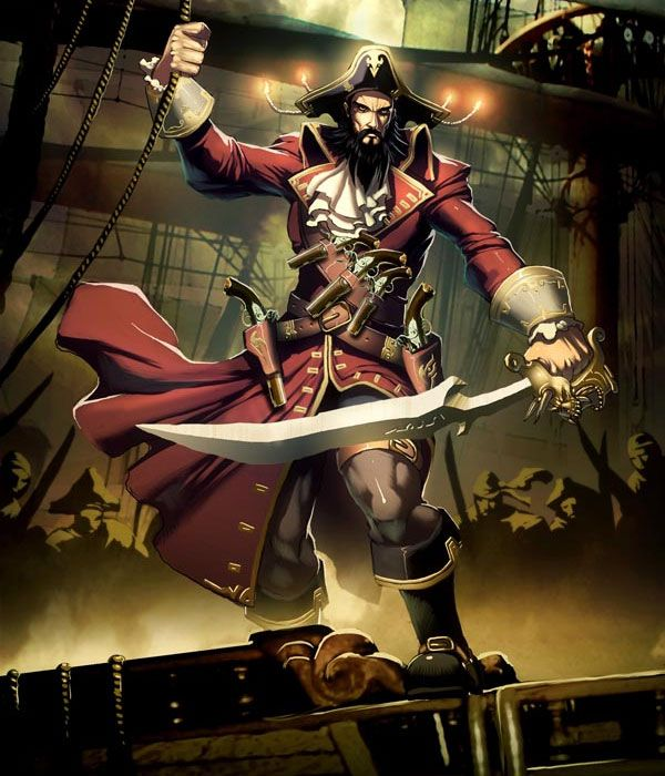 Blackbeard-pirate-myth-legends-digital-art