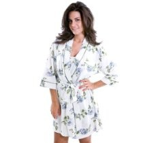 Body Touch Floral Gown/Robe Set