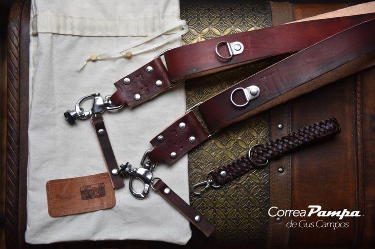 Correa de camara, correa fotografica, Correa Pampa, Gus Campos, photo straps