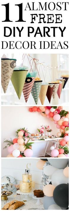 DIY Party Decor Idea - Check more details on www.prettyhome.org