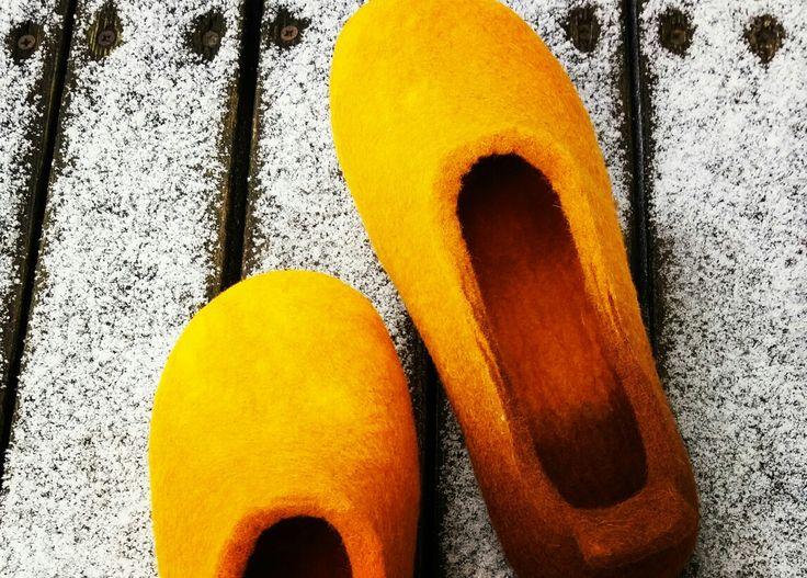 wet felt wool slippers MEDAINI DZINTARAINĀS www.pamana.lv