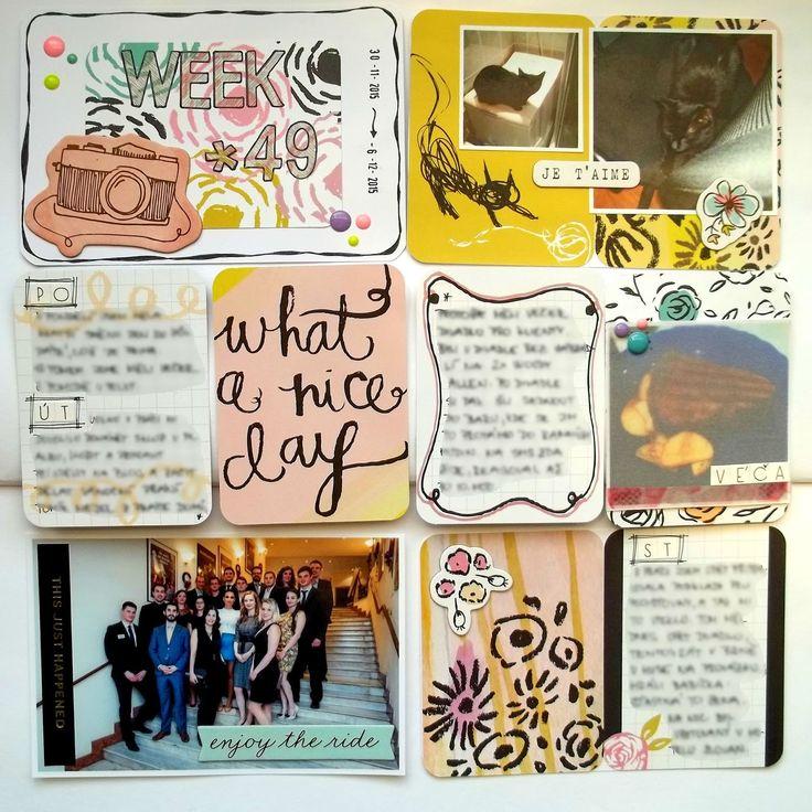 My little paper world...: WEEK 49