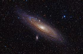 Image illustrative de l'article Galaxie d'Andromède