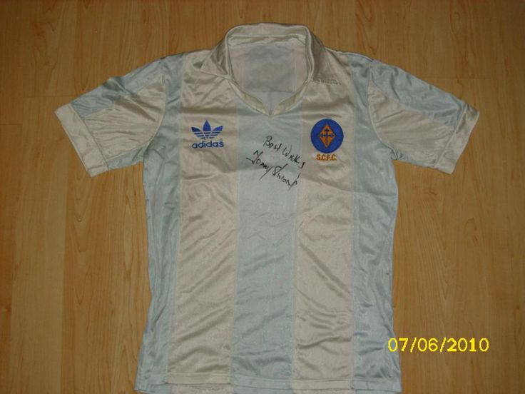 """Stockport County football shirt 1982 - my favourite """"County"""" shirt :)"""