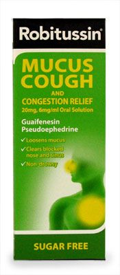 Robitussin Mucus Cough with Congestion 100ml Robitussin Mucus Cough with Congestion 100ml: Express Chemist offer fast delivery and friendly, reliable service. Buy Robitussin Mucus Cough with Congestion 100ml online from Express Chemist today! (B http://www.MightGet.com/january-2017-11/robitussin-mucus-cough-with-congestion-100ml.asp