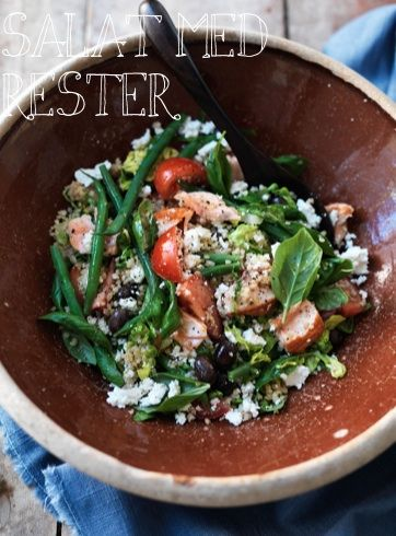 Inspiration til salat med rester