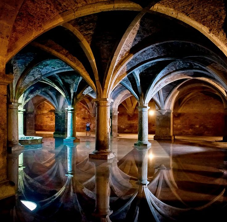 If you ever get to go to Morocco this Portuguese Cistern in El Jadida, Morocco is a must! It is beautiful and the city is also really nice!