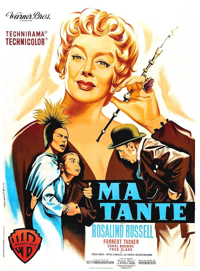 1959 Meilleur Film Morton DACOSTA 1959 Actrice de Comédie Rosalind RUSSELL