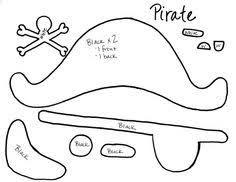 Resultado de imagen de patron de gorro pirata