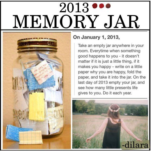Memory Jar, Memories, Jar
