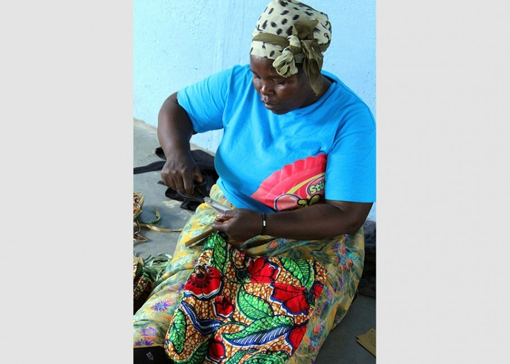 Artisan's in #Swaziland working on the Timibali Hobo bag.      You can change her story through your purchase! http://storycompany.com/categories/timbali-hobo-bag.html#