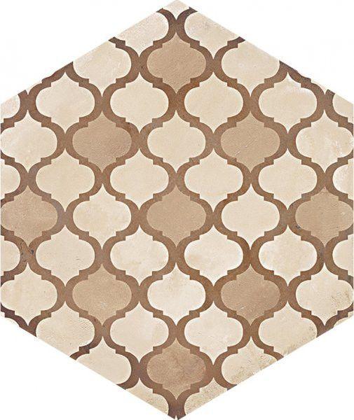 #Marca Corona #Terra Coloniale Esagonale Vers. C 25x21,6 cm 0411 | #Feinsteinzeug #Zement-Effekt #25x21,6 | im Angebot auf #bad39.de 61 Euro/qm | #Fliesen #Keramik #Boden #Badezimmer #Küche #Outdoor