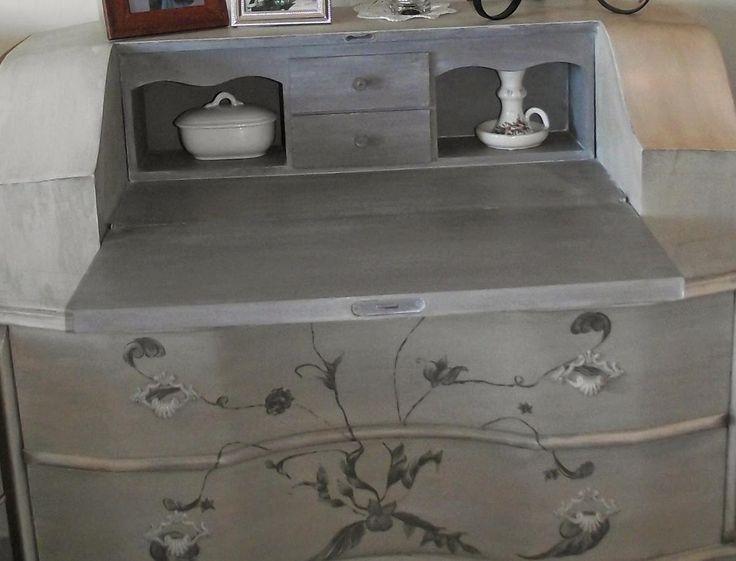 Redecorando un mueble con pinturas chalk paint