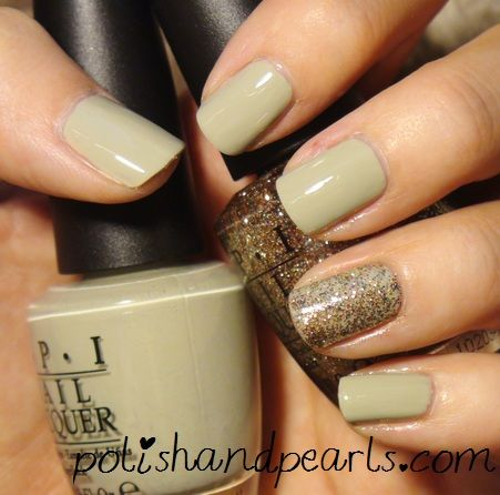 OPI in Stranger Tides.  Green is my favorite color.  I must have this.  Pretty sure Im going to have color on my nails this fall instead of pink w/ white tips!