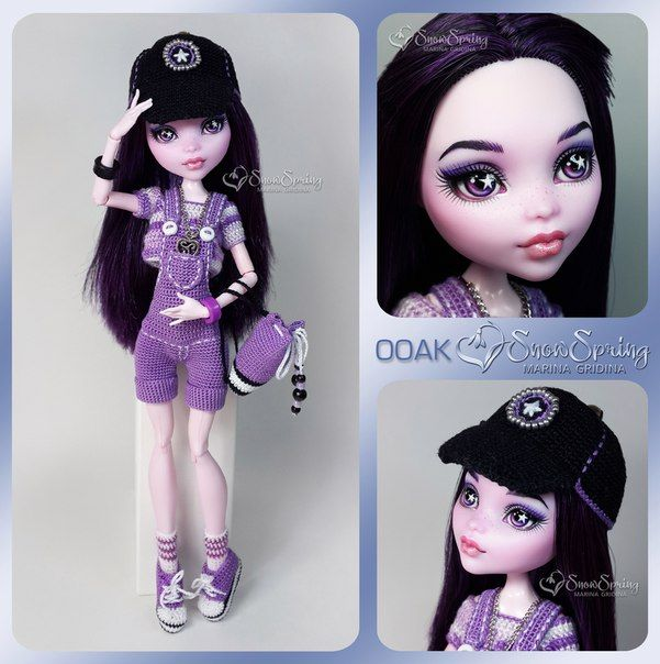 ~SnowSpring~ ООАК Monster High / EAH КУКЛЫ OOAK