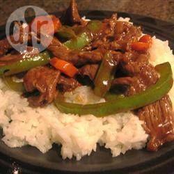 Biefstuk uit de wok met groenten recept - Recepten van Allrecipes