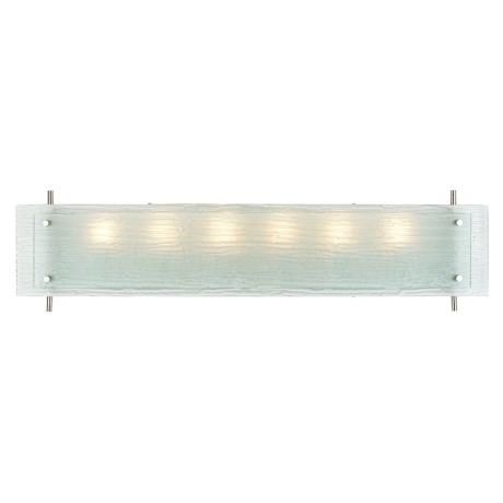 Possini Euro 36 Wide Frosted Glass Bath Fixture Potential Light Fixture For Master Bath