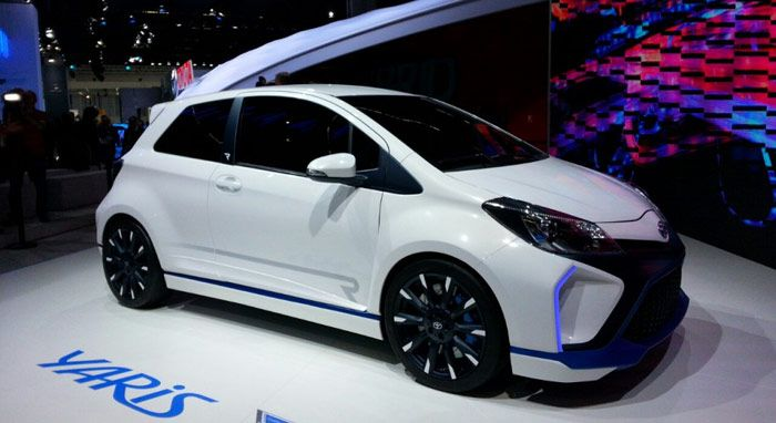 Toyota Yaris Hybrid-R Concept Melakukan Debut Perdananya
