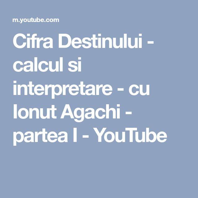 Cifra Destinului - calcul si interpretare - cu Ionut Agachi - partea I - YouTube