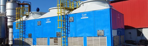 Round And Bottle Cooling Tower Cooling Tower Bottle Tower