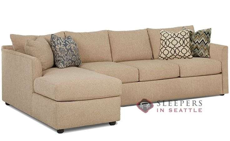 Savvy Aventura Chaise Sectional Sleeper (Queen)  Transitional style and timeless comfort.  Plush and comfy.  Customize it!
