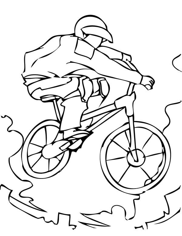 Bmx Free Colouring Pages Sports Coloring Pages Coloring Pages Colouring Pages