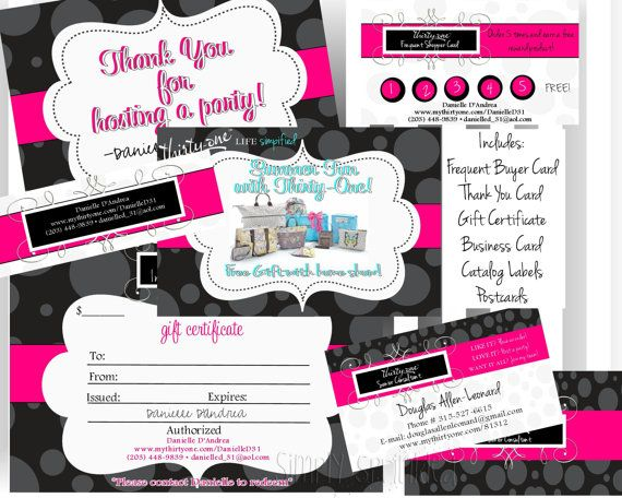ThirtyOne Business Bundle V2 DIY Printable by by SimplySprinkled, $35.00
