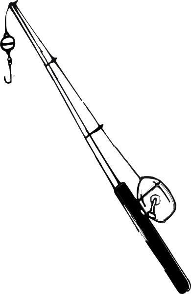 Fishing Rod Reel Clip Art