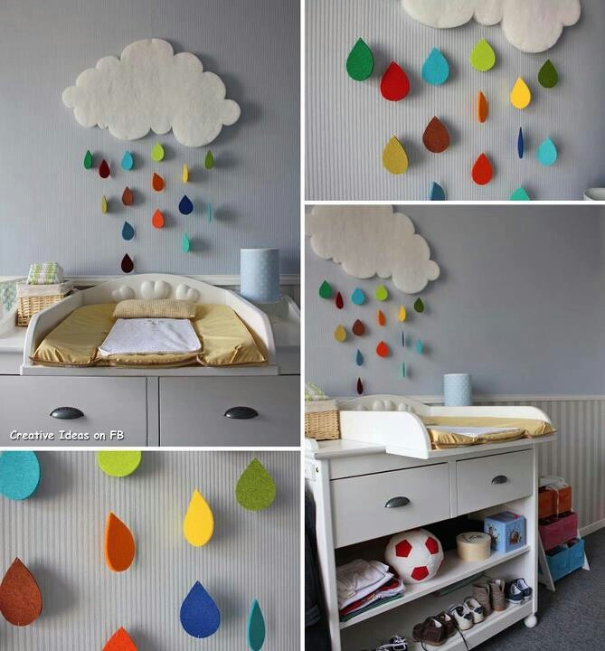 Regenwolke Kinderzimmer deko ideen, Kinder zimmer
