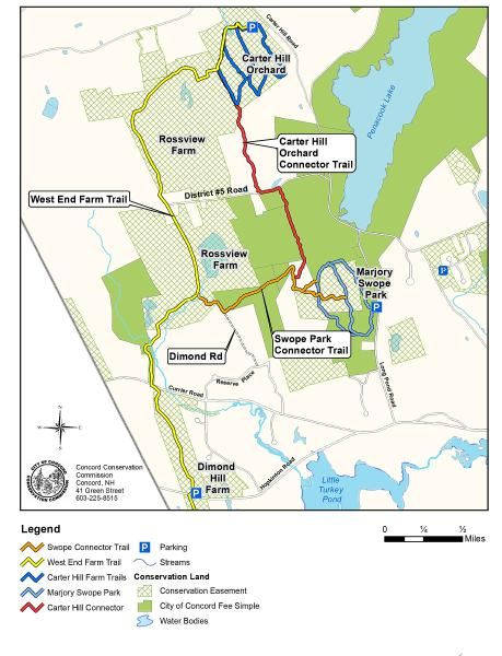 Long envisioned in West Concord, a trail system is completed | Concord Monitor