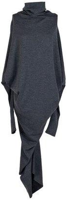 ShopStyle: Gustavo Lins Long Grey Dress