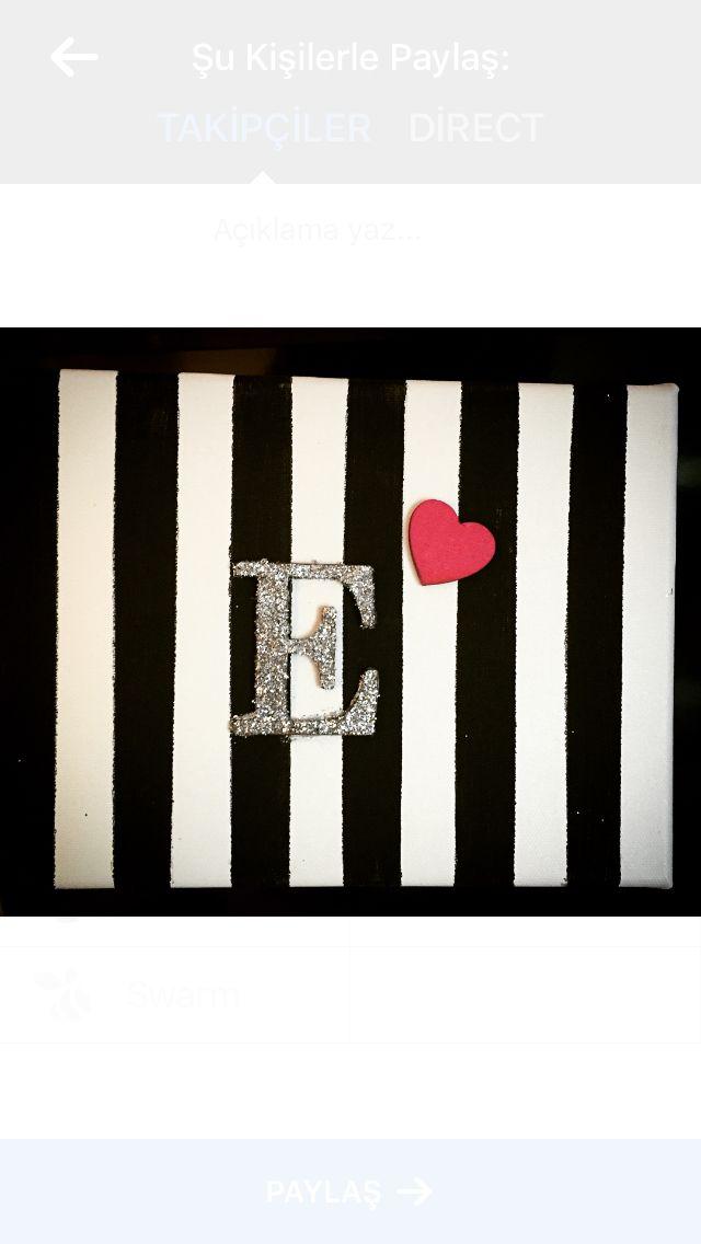 Make my own canvas #diy #wall #art #canvas #birthdaygift #pattern #kendinyap #doğumgünü #hediye #kanvas #doğumgünü2ocak