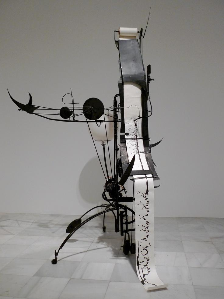 Méta-matic 17, 1959. Jean Tinguely