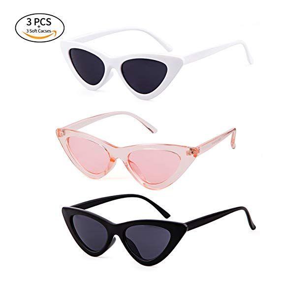 cc402ab780 Amazon.com  Clout Goggles Cat Eye Sunglasses Vintage Mod Style Retro Kurt  Cobain Sunglasses  Shoes