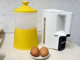 Image result for apparatus for cooking half boiled eggs