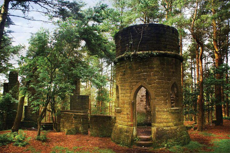 St David's Ruin (Ferrand's Folly), Cottingley, by Lisa Firth (February 2013 cover)