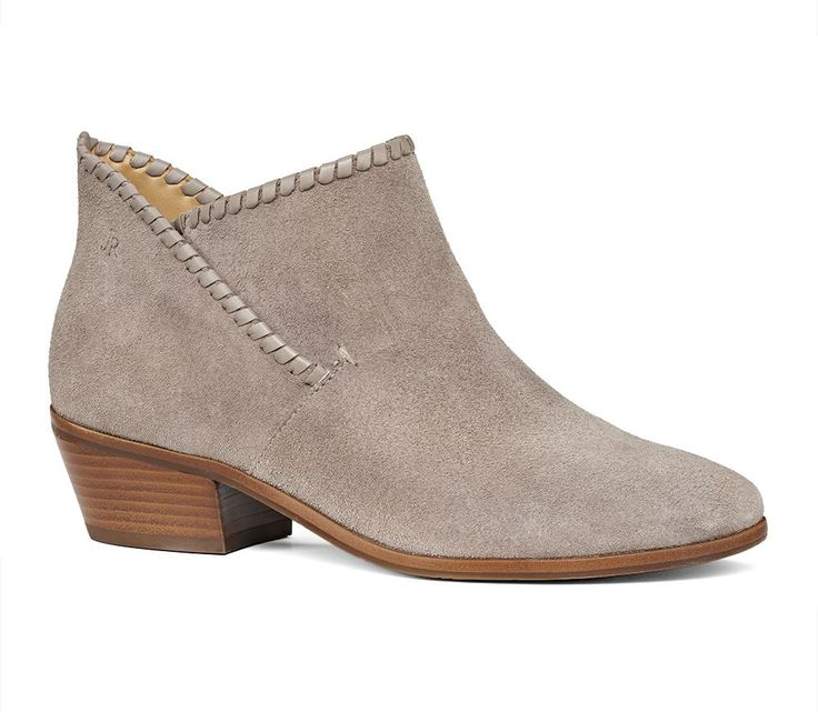 Sadie Bootie Light Grey - Jack Rogers USA...if this color were in stock.