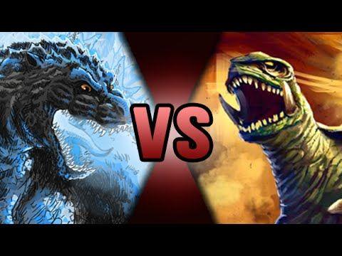 Godzilla VS Gamera | DEATH BATTLE! | ScrewAttack - YouTube