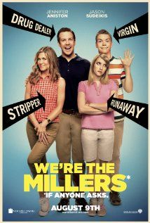 [capsule review] We're The Millers - Fun but mostly predictable. More heart than I expected.  And the absolute best scene in the whole movie is during the outtakes in the credits when they prank Aniston.  (iTunes rental, 12/21/13)