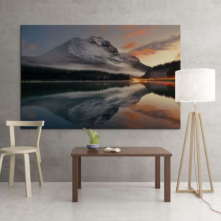 """Multiple Dimensions Canvas - """"Mountain"""" Price: 17,00 €"""