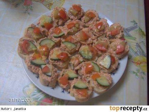 Rumcajs - pikantní pomazánka
