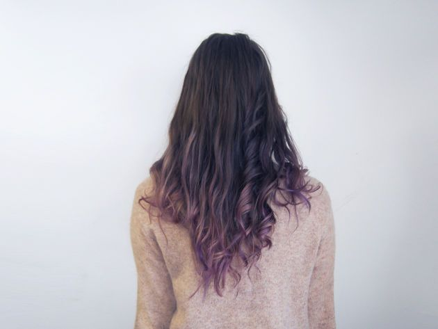 DIY Subtle Purple Ombré | | lady lovely locks | | Pinterest