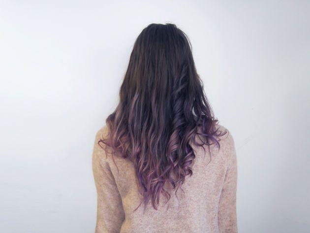 DIY Subtle Purple Ombré | | lady lovely locks | | Pinterest