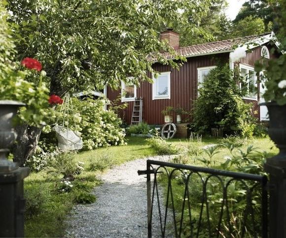 Swedish garden. Oh so Swedish.