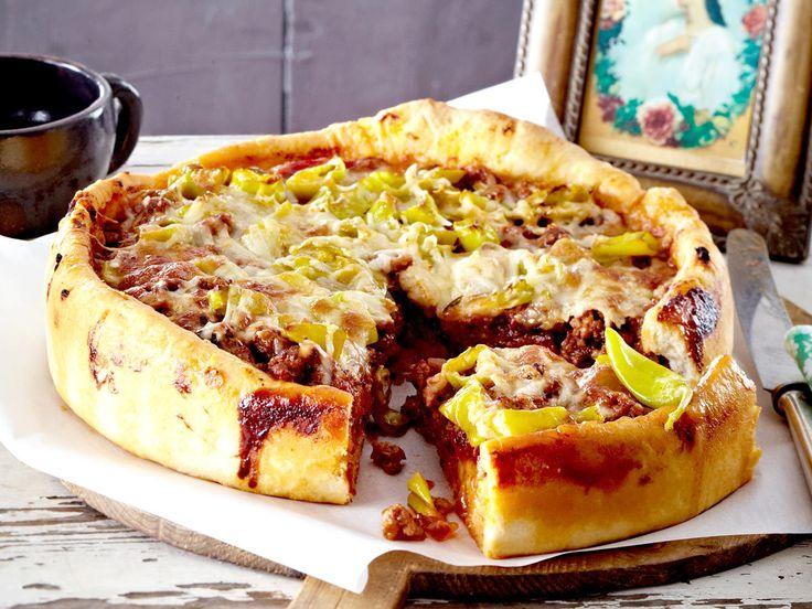 Partyrezepte - das Beste für hungrige Gäste - bolognesepizza  Rezept