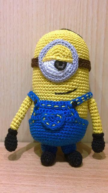 Crochet italiano: Minion #1 Stuart in italiano