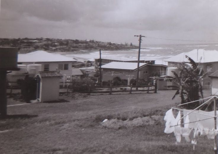 """17 Warne """"Rangitoto"""" - 1966 in Caloundra. Notice the out-house!!! sunshinecoastplaces"""