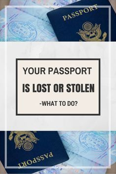 In case your passport is stolen in a foreign country, the need to act quickly becomes more and more important. That is why you need to report that loss as soon as possible to the US Consulate or Embassy nearest you. They will then assist you on getting a