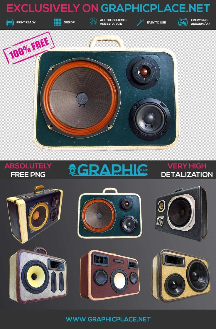 Vintage Boombox - Free PNG. #freepng #freepsd #boombox #boomcase #vintage #retro #music #90s #80s #60s #70s #oldschoolmusic #music DOWNLOAD FREE MOCKUP HERE: http://www.graphicplace.net/vintage-boombox-free-png/ MORE FREE GRAPHIC RESOURCES: http://www.graphicplace.net/