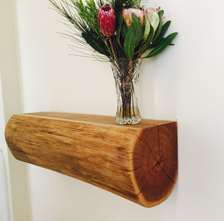 A floating log made from white eucalyptus wood